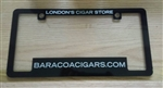 License Plate Frame Cover Black
