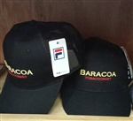 Fila Ball Cap with Baracoa Tobacconist Logo Black