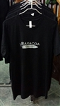 Baracoa Tobacconist T Shirt - Crew Neck (Black)