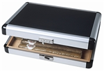 Steel Case Travel Humidor