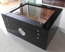 Black Button Humidor