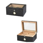 Milano Black Oak Humidor