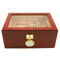 The Showcase II Bubinga Humidor