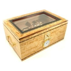 Birch Burl Dreams Humidor