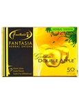 Fantasia Herbal Shisha Golden Double Apple, tobacco and nicotine free