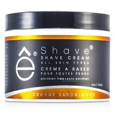 E Shave Orange Sandalwood Shave Cream