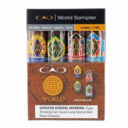 CAO World Sampler - 4pack