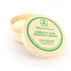 Taylor of Old Bond Street Lemon and Lime Shave Cream