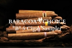 """B"" Sampler Baracoa's Choice"