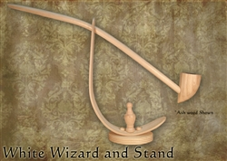 MacQueen Pipes White Wizard with Stand