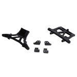 LOSB1042 Front Rear Shock Tower  Lower Shock Mounts MHRL