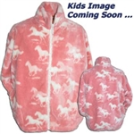 Pink Ponys Youth Fleece Jacket