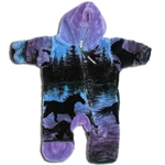 Twilight Horses Fleece Baby Jumper