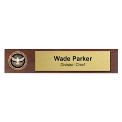 Desk Nameplate w/ Coin (TSA)