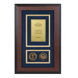 Recognition Shadow Box w/ Coins (CBP)