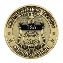 TSA Badge Coin - Brass