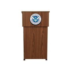 Molded Podium/Wall Sign DHS Seal (9 in.)
