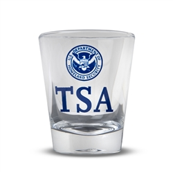 Clear Shot Glass (TSA)