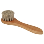 Horsehair Polish Applicator Brush - Small - Neutral Bristles