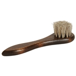 Executive Horsehair Polish Applicator Brush - Neutral Bristles