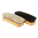 "Professional 8.25"" Shoe Shine Brushes - 1 Pair"