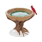 DEPARTMENT 56 VILLAGE WOODLAND BIRDBATH