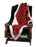 VINTAGE SANTA THROW BY DITZ DESIGNS