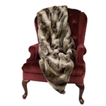 CHINCHILLA THROW BY DITZ DESIGNS