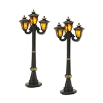 Department 56 Victorian Street Lamps