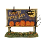 Halloween Lit Pumpkin Patch Billboard