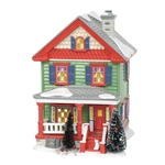 Department 56 Snow Village Aunt Bethany's House