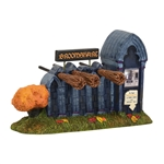 Department 56 Halloween Village Broomshare