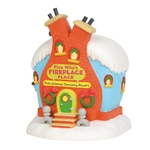 Grinch Village Flue Who's Fireplace Place