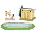 Department 56 Snow Village Pool Fantasy