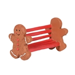 Department 56 Village Gingerbread Bench
