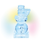 Lit Ice Castle Snowman