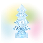 Department 56 North Pole Village Lit Ice Castle Tree