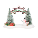 Snow Village A Festive Christmas Gate