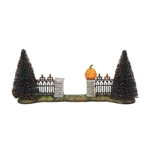 Department 56 Halloween Gate