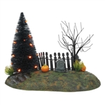 Department 56 Halloween Fright Night Lit Base