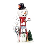 SNOWMAN WATERTOWER