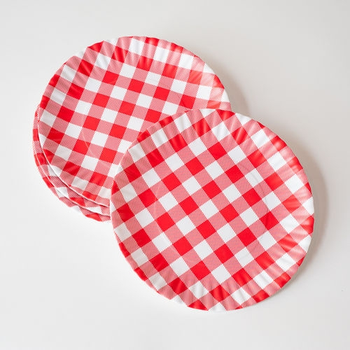 sc 1 st  Good Things For All Seasons : gingham paper plates - pezcame.com