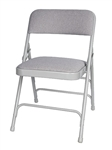 "<span style=""font-size: 11pt; color: rgb(0, 0, 128);"">Beige Fabric Metal Folding Chair  </span>"