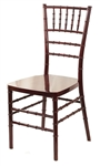 Resin-Mahogany-Chiavari-Chair