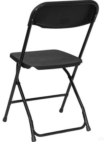 Wholesale Prices BLACK PLASTIC FOLDING CHAIR ...