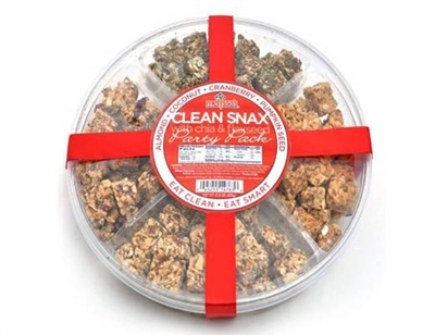 Clean Snax Party Pack with Chia and Flaxseed