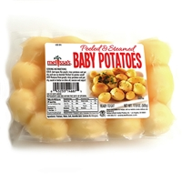 Peeled and Steamed Baby Potatoes