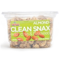 Clean Snax Case Almond