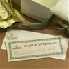 Gift Certificates Mailed to you