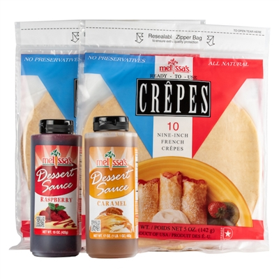 Crepes and Dessert Sauces